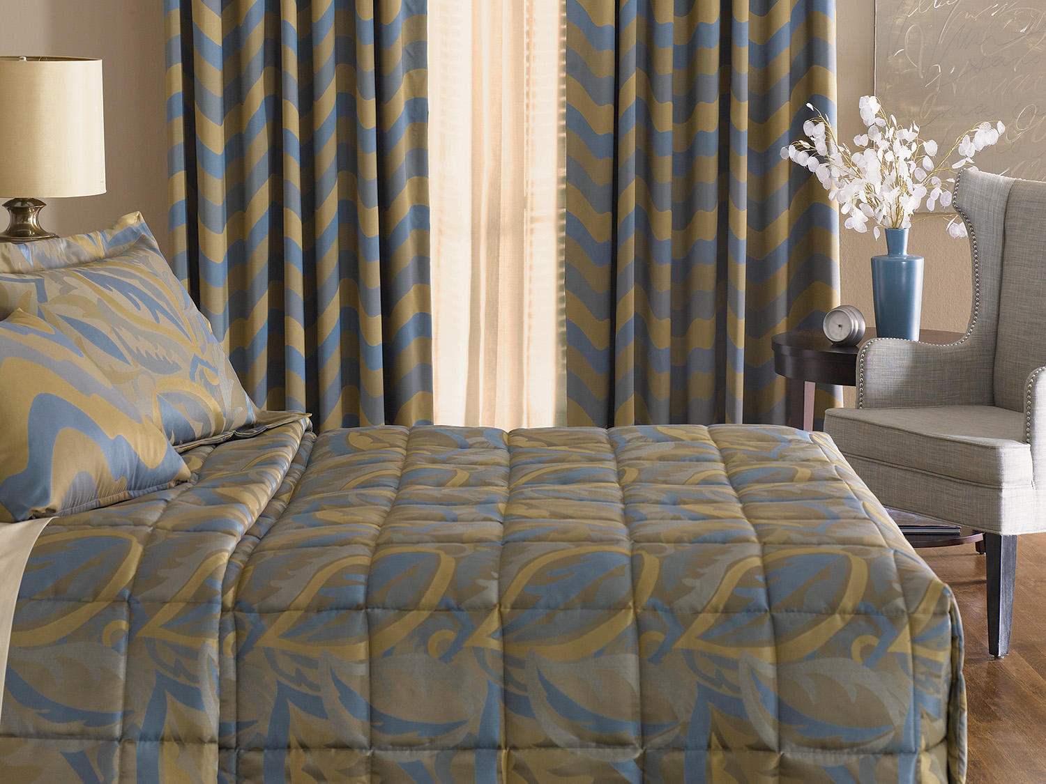 Quilted Coverlet Fabtex